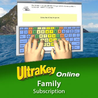 Teach Typing With Ultrakey Online Or Improve Your Own Skills